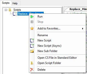 PCBI Manual   Script Engine